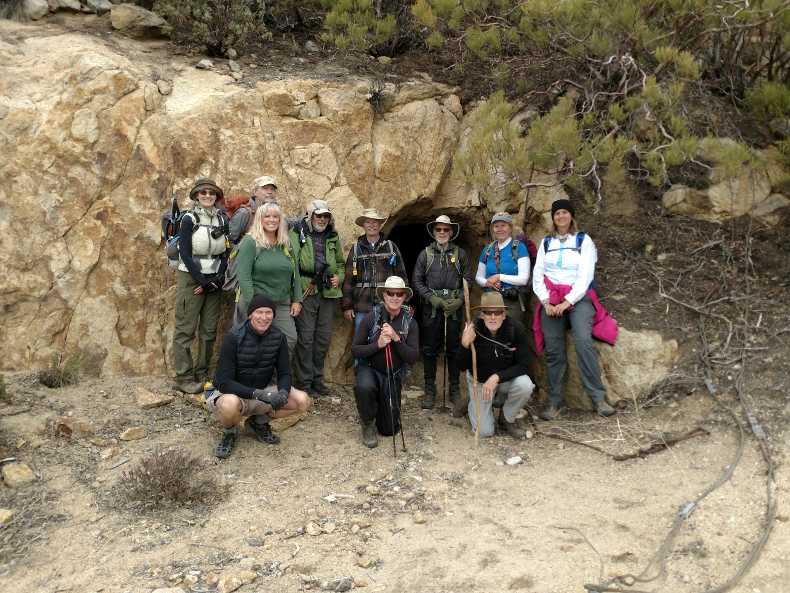 Here we are at the end of the trail.