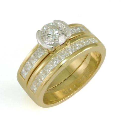 The finished wedding ring
