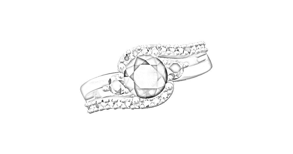 4. Mareeba - ladies dress ring draft