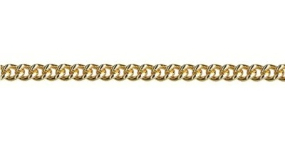 Chain width = 3.50mm Approx. weight 9ct yellow gold for 50cm = 17.06g Available in the following:  9ct yellow : 45, 50, 55, 60, 70cm