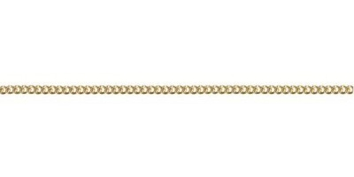 Chain width = 1.40mm Approx. weight 9ct yellow gold for 50cm = 3.04g Approx. weight 18ct yellow gold for 45cm = 3.6g  Available in the following: 9ct yellow : 40, 45, 50, 55, 60cm 18ct yellow: 45cm