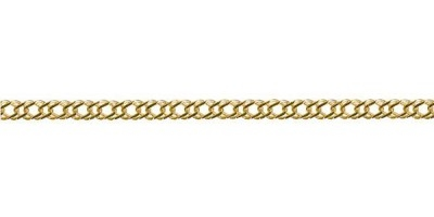 Chain width = 2.80mm  Approx. weight 9ct yellow gold for 45cm = 3.73g  Available in the following:  9ct yellow : 45cm