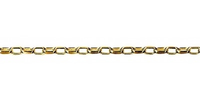 Chain width = 2.40mm  Approx. weight 9ct yellow gold for 50cm = 4.54g  Available in the following:  9ct yellow : 40, 45, 50cm