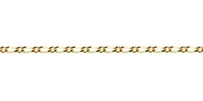 Chain width = 1.9mm  Approx. weight 9ct yellow gold for 50cm = 3.3g  Available in the following:  9ct yellow : 40, 45, 50, 55cm
