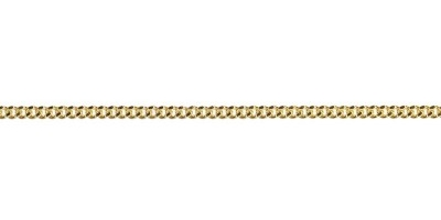 Chain width = 1.8mm Approx. weight 9ct yellow gold for 50cm = 4.68g Approx. weight 18ct yellow gold for 50cm = 6.1g Available in the following:  18ct white:45, 50, 55cm 18ct yellow:40, 45, 50, 55, 60cm 9ct pink:45, 50, 55, 60cm 9ct white:40, 45, 50, 55, 60cm 9ct yellow : 40, 45, 50, 55, 60, 70cm