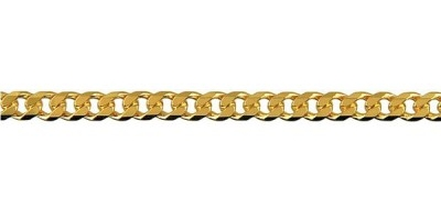 Chain width = 3.6mm Approx. weight 9ct yellow gold for 50cm = 13.35g   Approx. weight 18ct yellow gold for 50cm = 17.4g Available in the following:  18ct yellow: 50, 55, 60, 70cm 9ct white: 50, 55, 60cm 9ct yellow : 40, 45, 50, 55, 60, 70cm