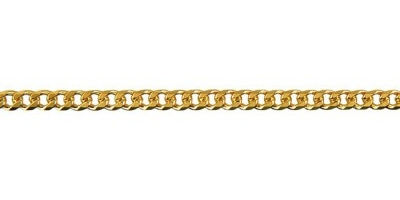 Chain width = 2.8mm Approx. weight 9ct yellow gold for 50cm = 10.59g  Approx. weight 18ct yellow gold for 50cm = 13.8g Available in the following:  18ct yellow:50, 55, 60, 70cm 9ct white: 45, 50,55, 60cm 9ct yellow : 40, 45, 50, 55, 60, 70cm