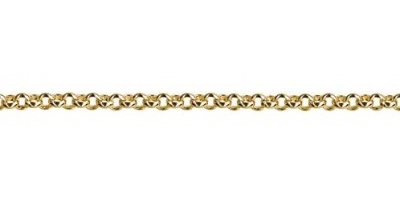 Chain width = 2.4mm Approx. weight 9ct yellow 50cm =6.45g Approx. weight 18ct yellow for 45cm = 7.6g  Available in the following: 9ct white:45, 50, 55, 60cm 9ct yellow : 40, 45, 50, 55, 60, 70, 80cm 18ct yellow:45cm