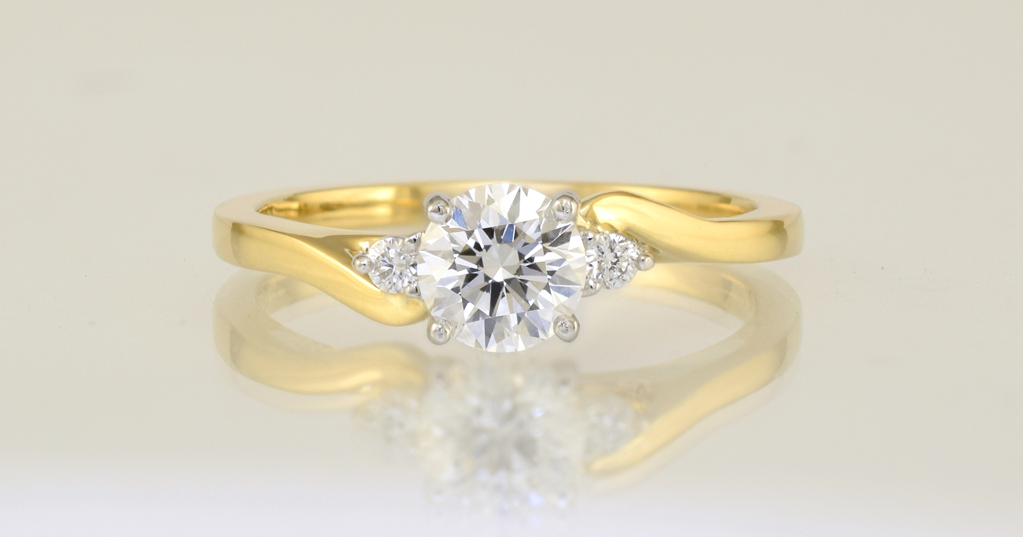 .51 carat, F colour, Si1 clarity, GIA triple excellent grade diamond.