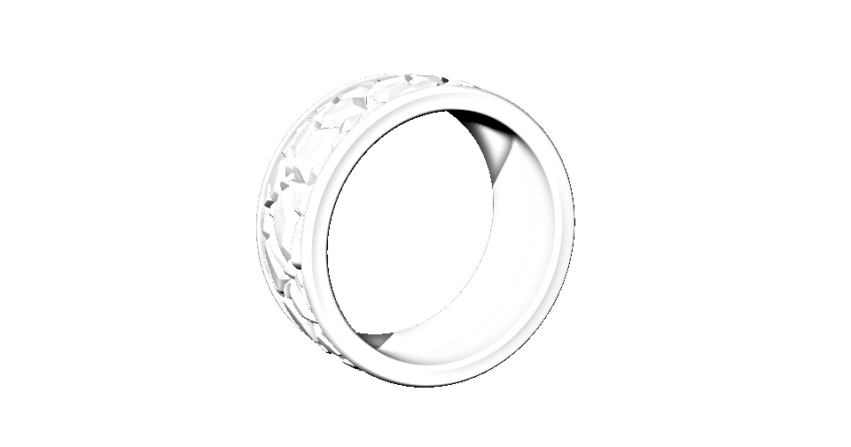 The ring is 2mm thick and a size W.5