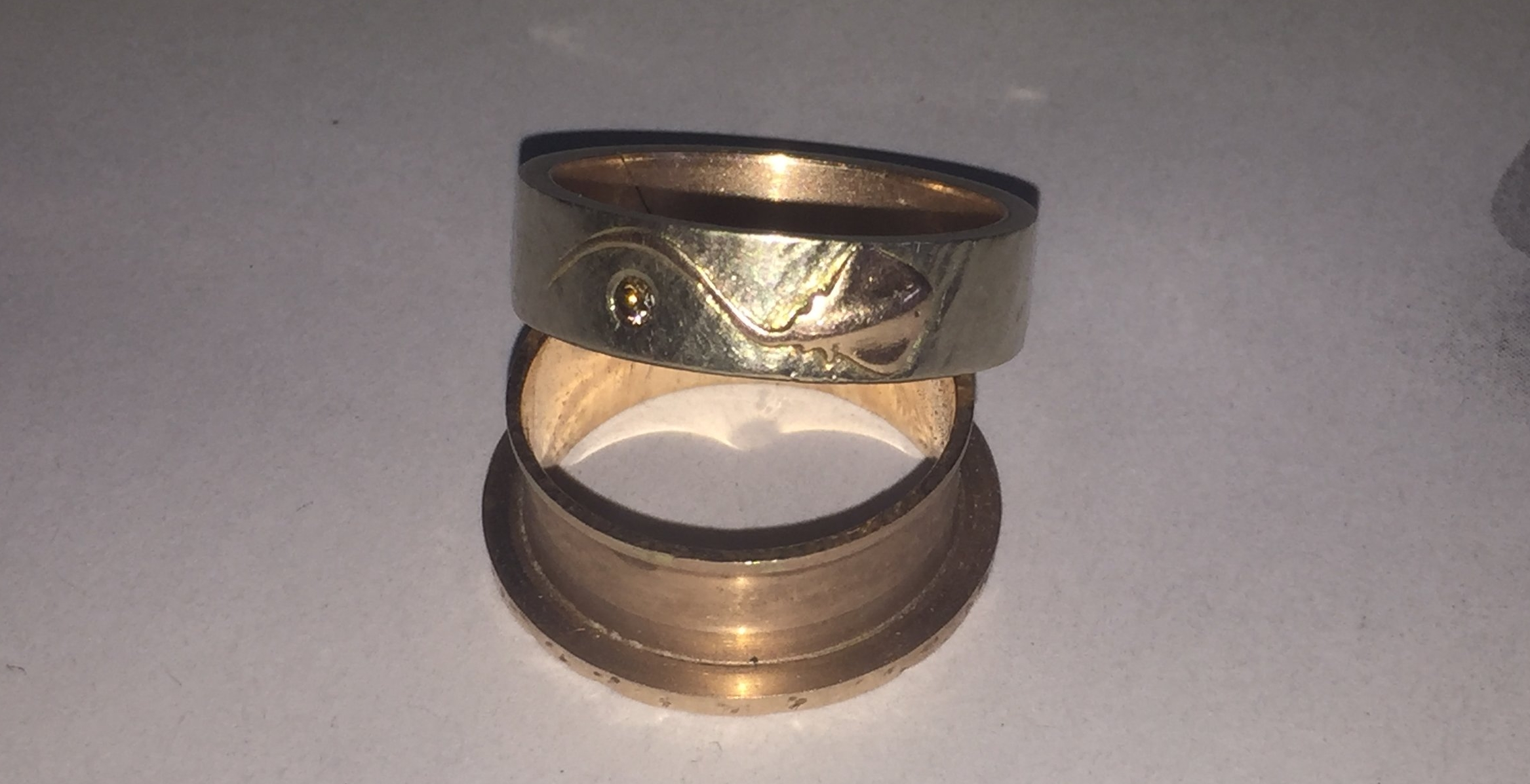 The two rings had parted ways.