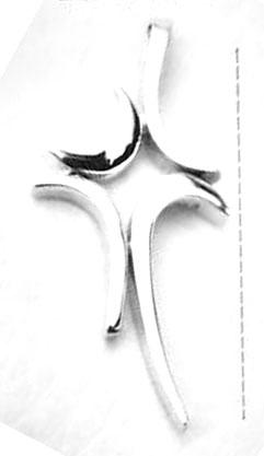 Desired shape of the cross.