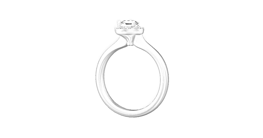 A comfort edge was also added to make the ring as comfortable as possible to wear.