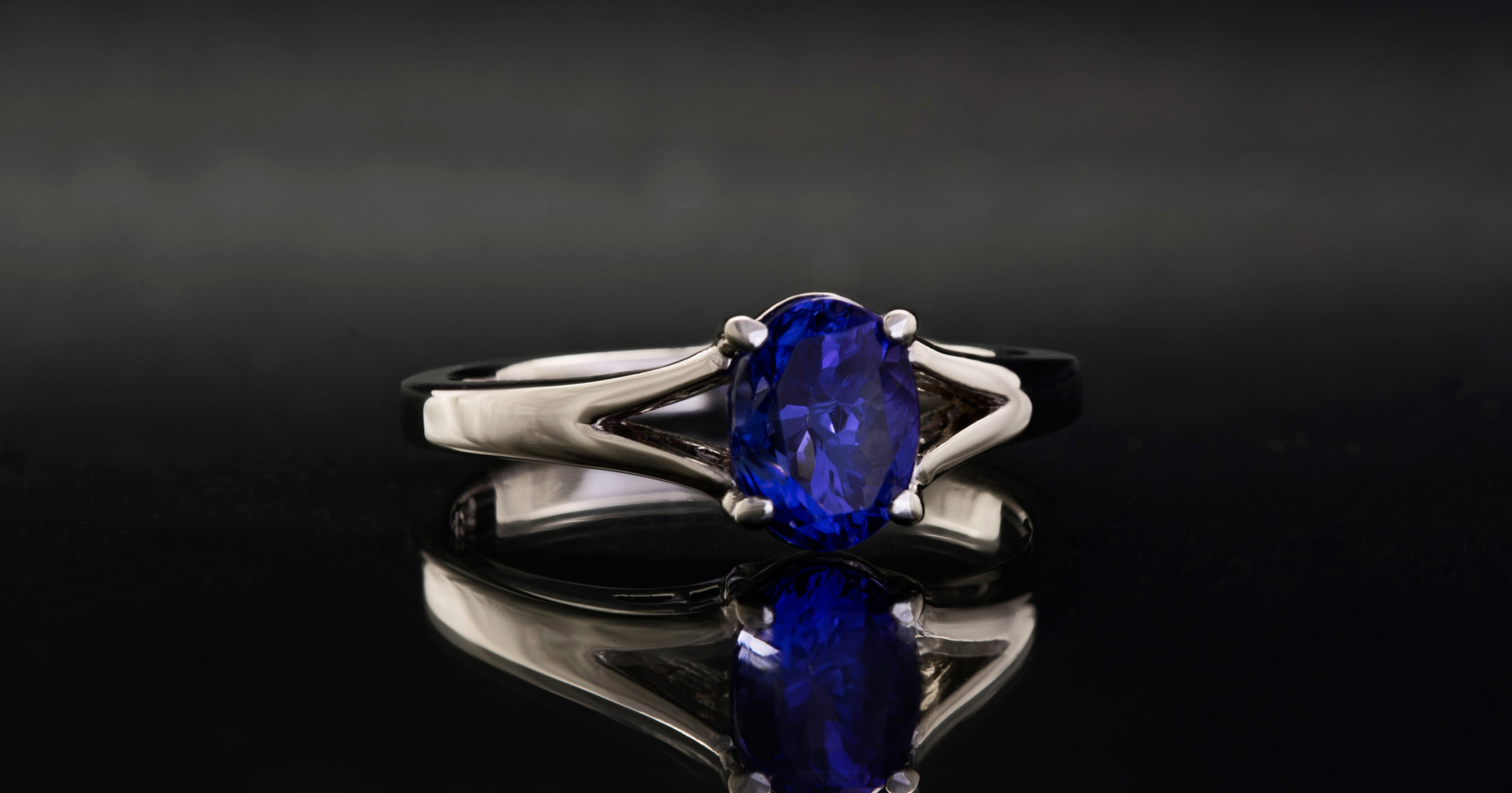 Tanzanite is a beautiful gem made popular by Tiffany. It is very delicate and does not suit most peoples everday wear..