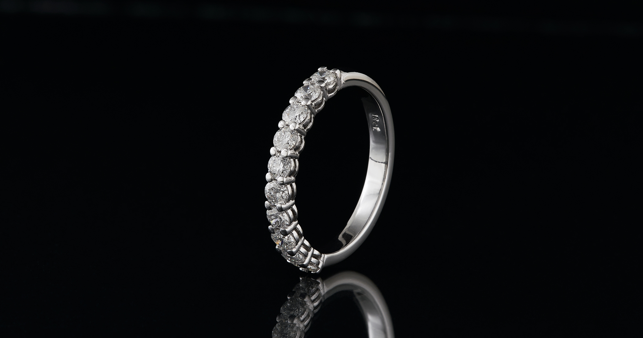 The ring with 10 diamonds.