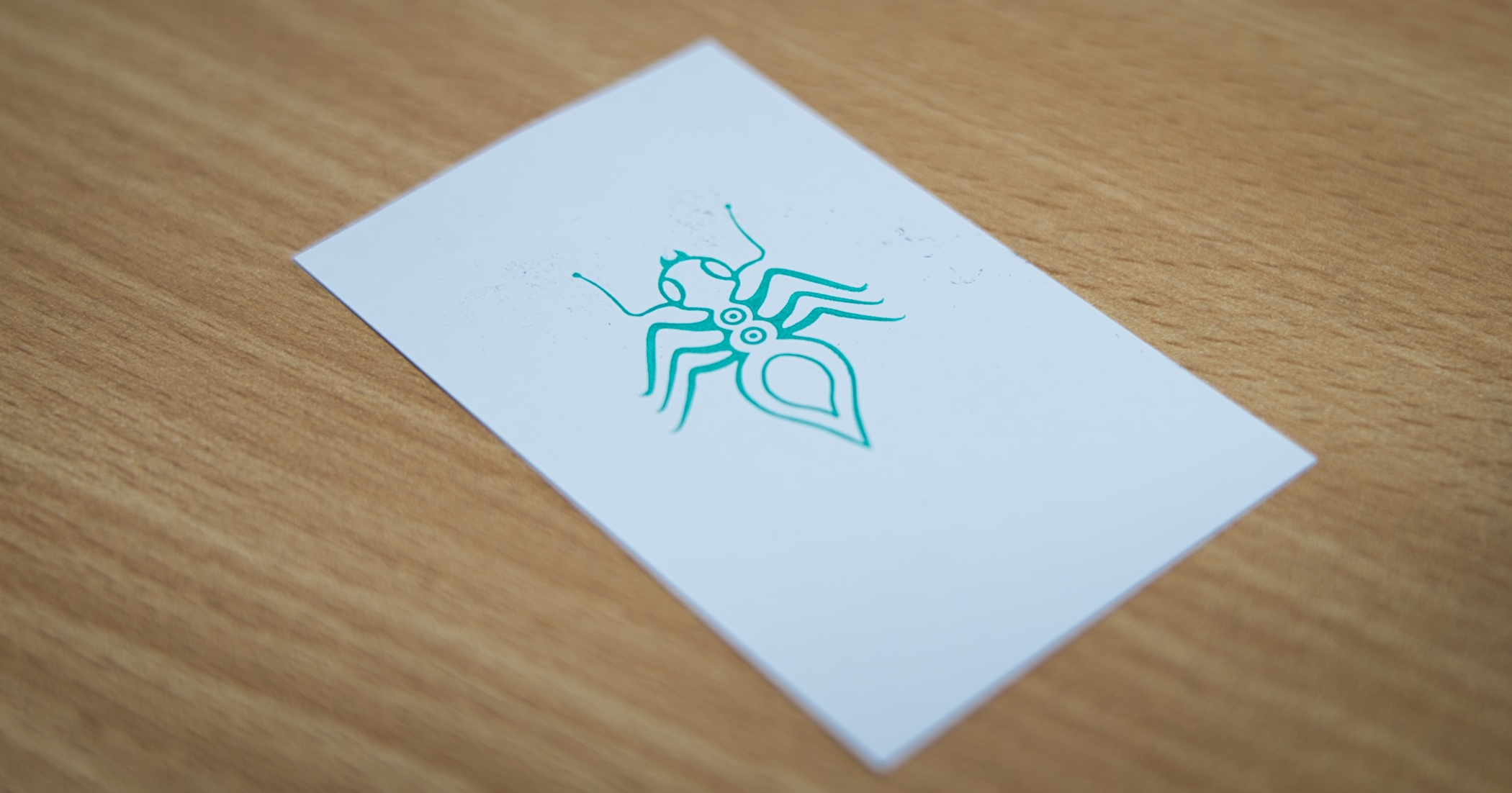 The Green Ant lives on the back of the new Pacifico cards.