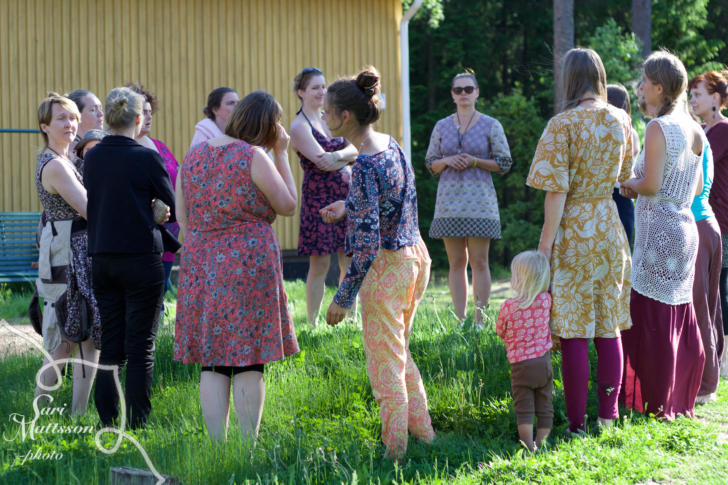 Photo courtesy of Sari Mattesson food styling and photography from the Sacred Pregnancy instructor retreat in Finland