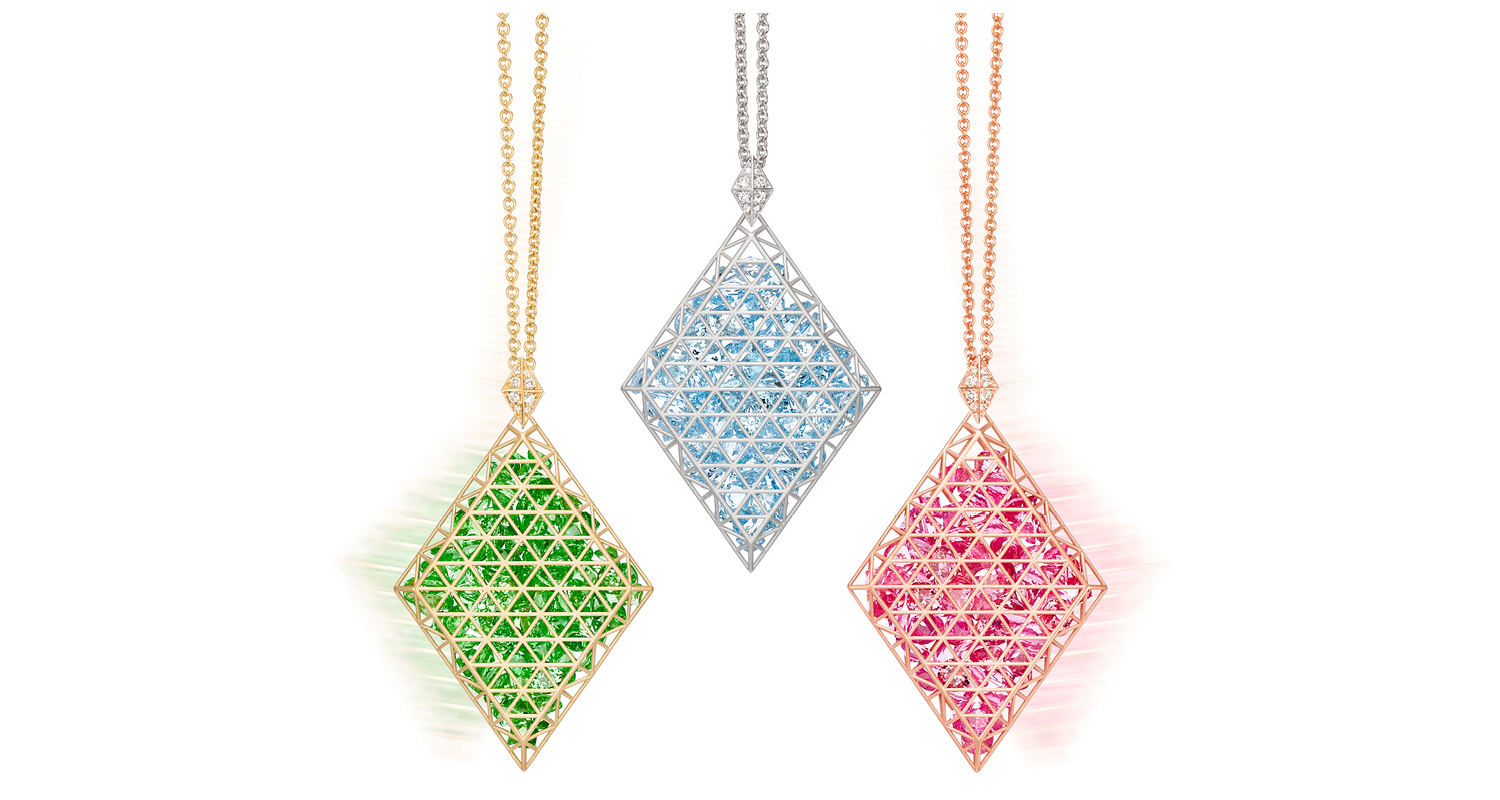 Beveled Pendants