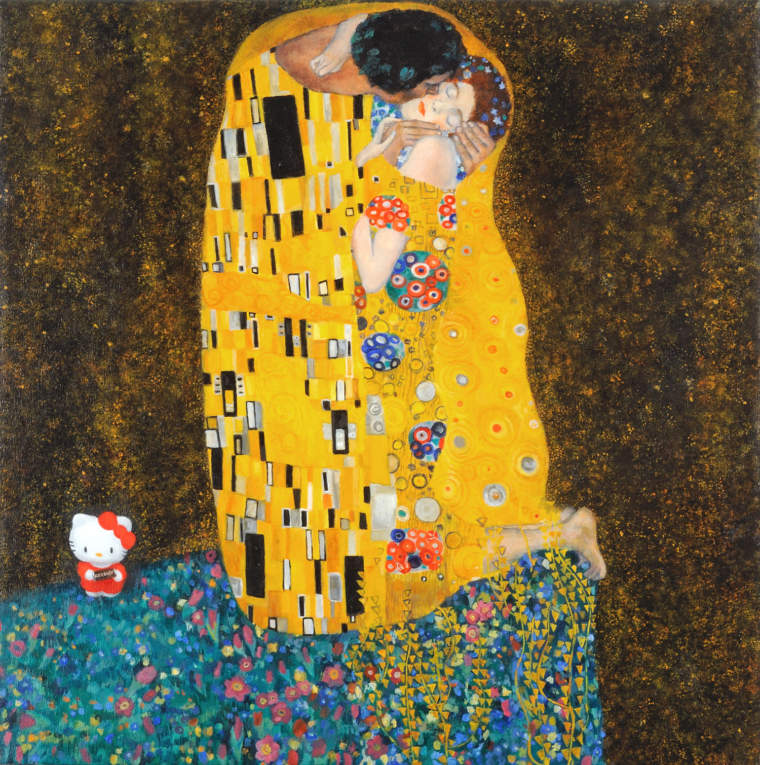 Hello Klimt (say it with chocolate)