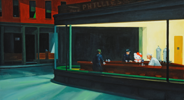 Hello Hopper (good to the last drop)