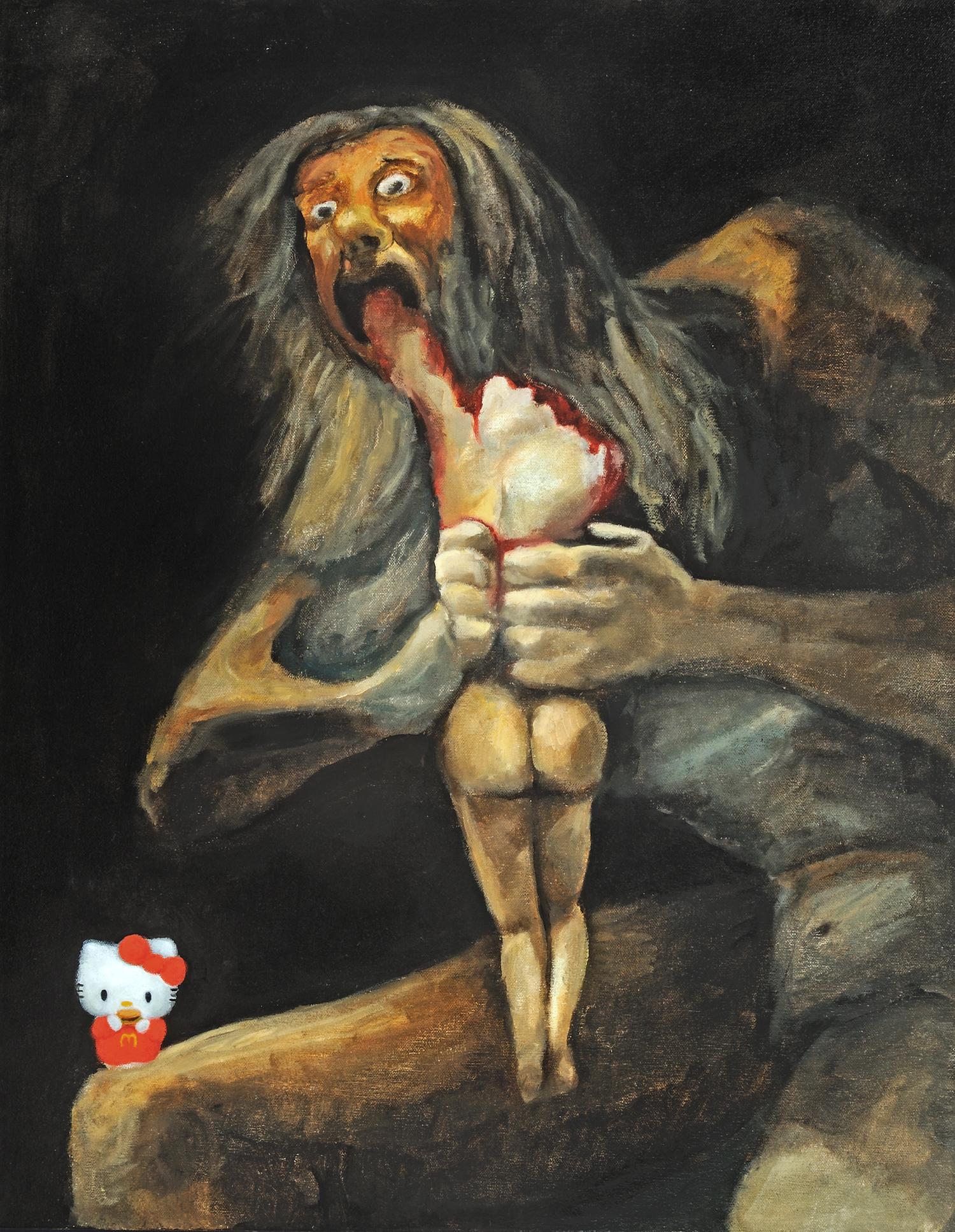Hello Goya (stuffing feelings)