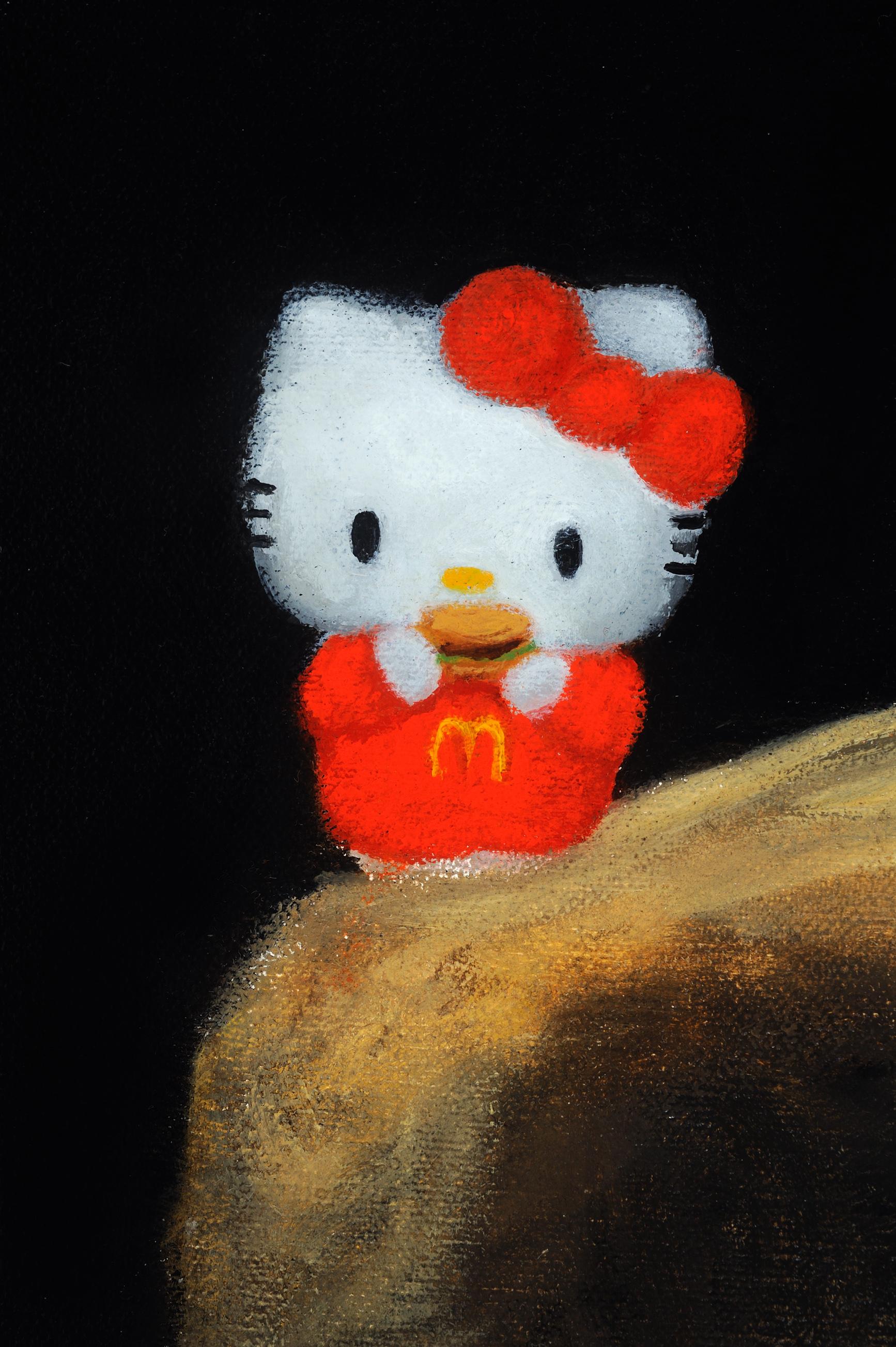Hello Goya (stuffing feelings) detail