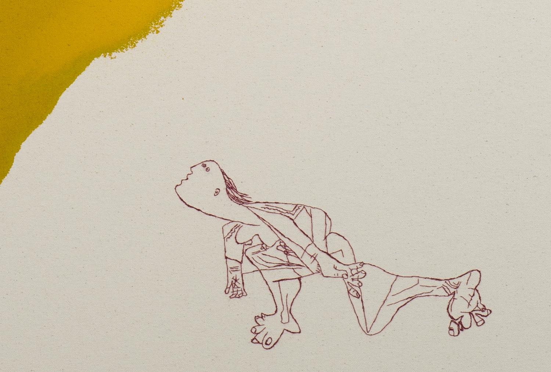 Unspeakable (falling woman 2) detail