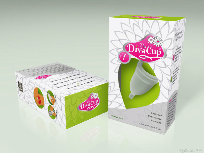 DIVACUP PACKAGE REDESIGN -