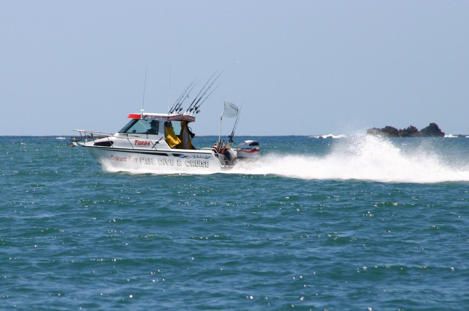 Oakura Fish, Dive & Cruise