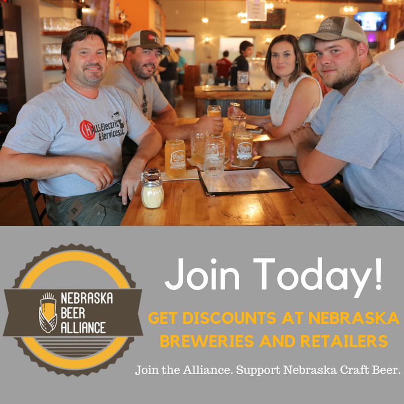 For more information and get get you membership - click on this link    Nebraska Beer Alliance