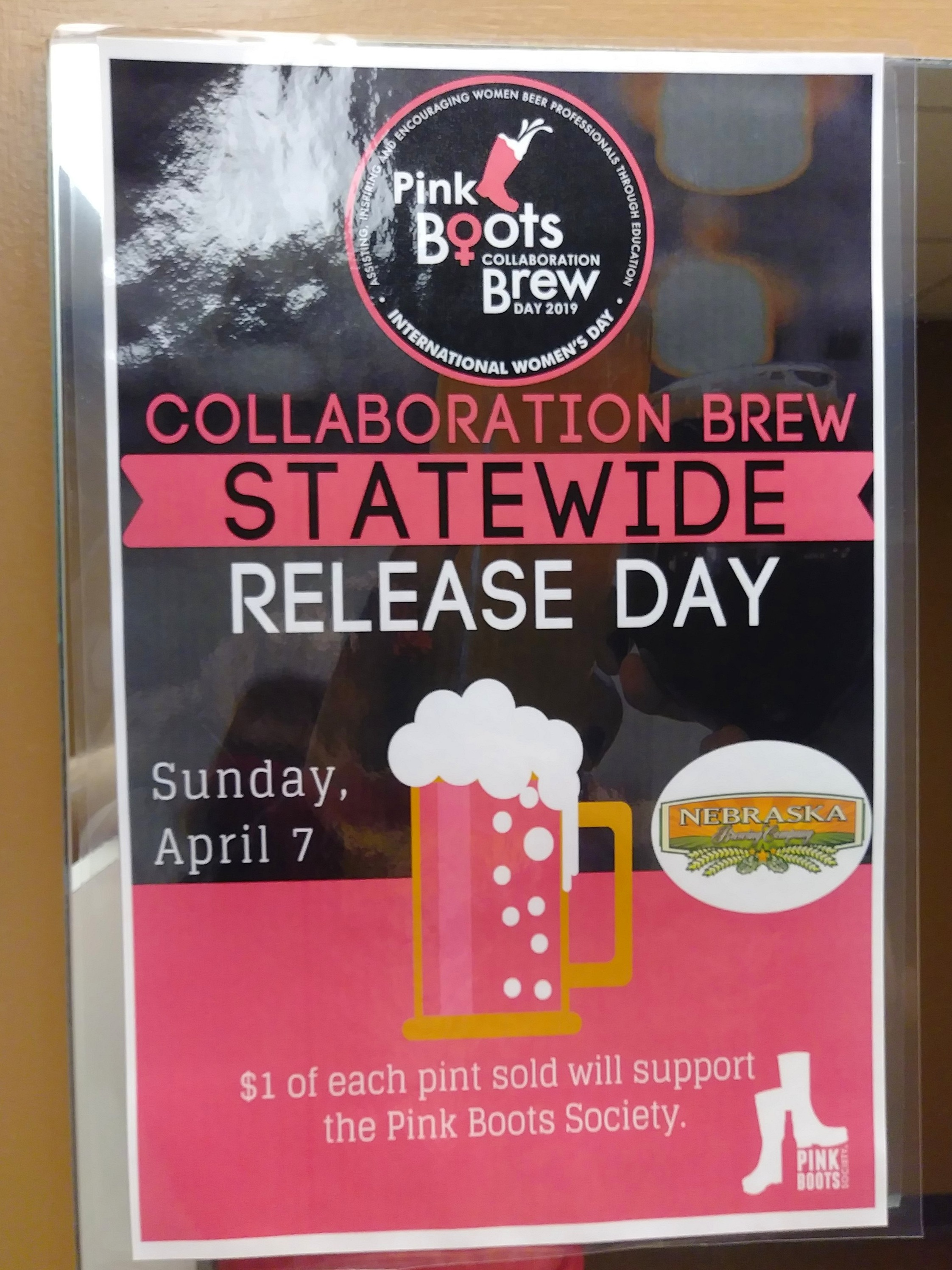 Support Pink Boots Society with the release of the collaboration beer