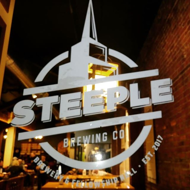 First time to get to visit Steeple Brewing in. #hastings #Nebraska Had a nice time talking with people who had attended Do the Brew 🍻