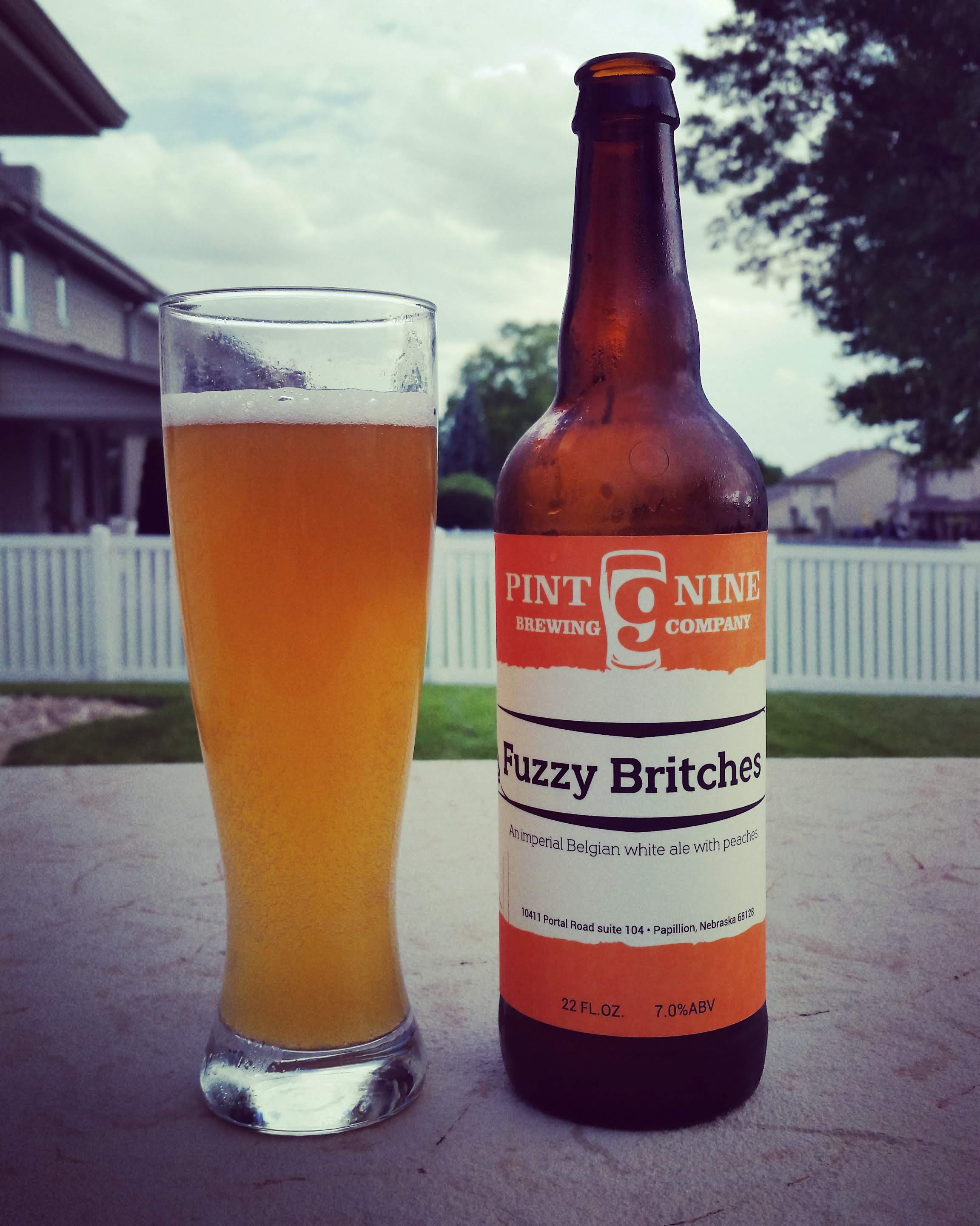 Fuzzy Britches is not only a fun name but a really good beer
