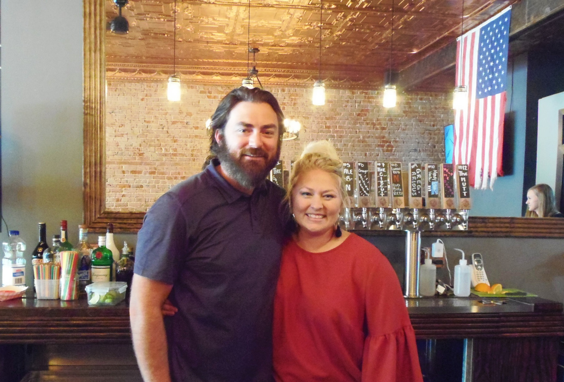 Greg and Mandy Luettel are the owners of Hwy 14 Brewing Co.