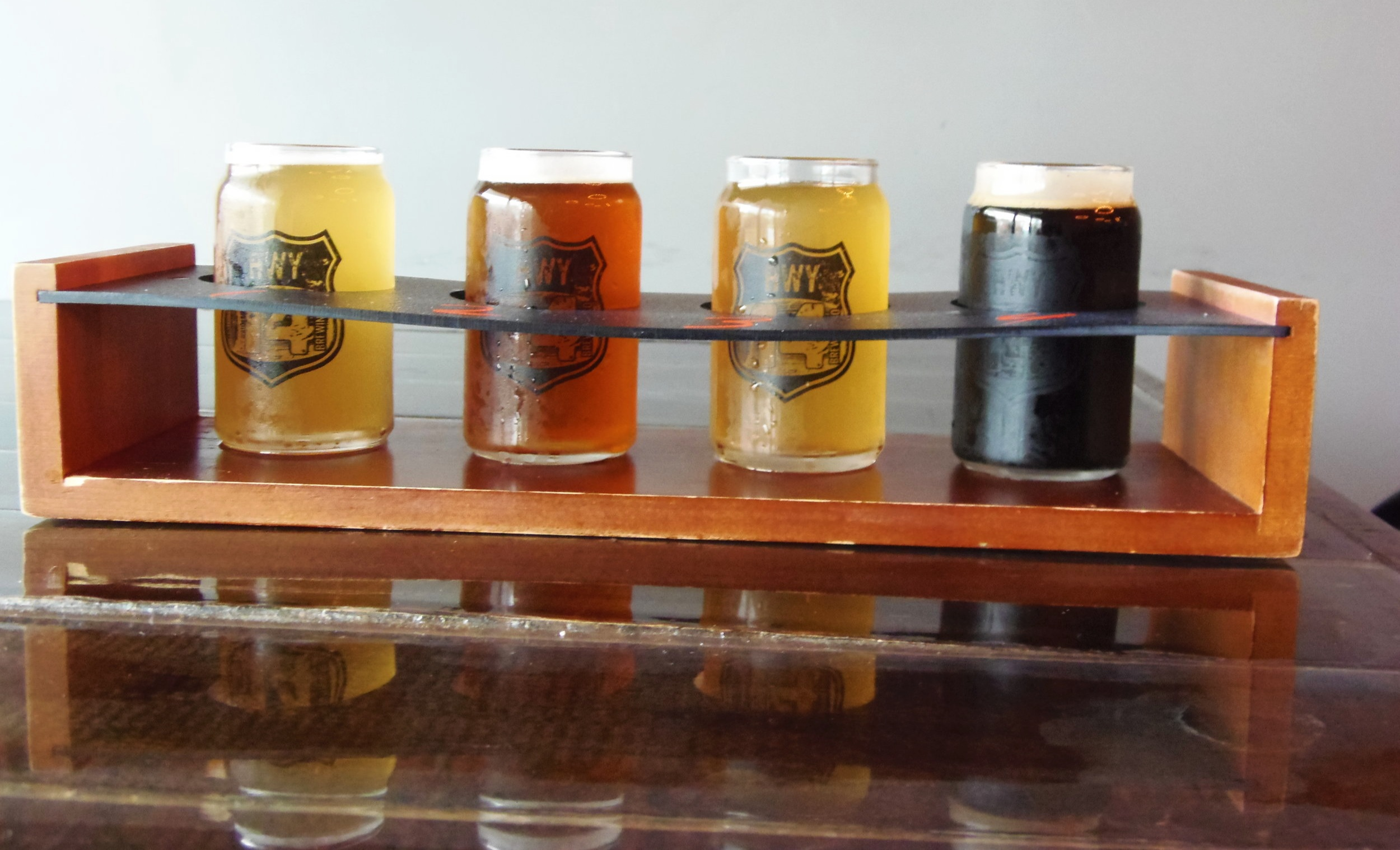Flights are a must especially with 12 beers on tap