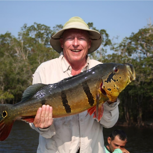 Fishing in brazil during a dental mission trip