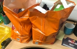 Average Food Parcel at Trussell Trust food bank in Salford