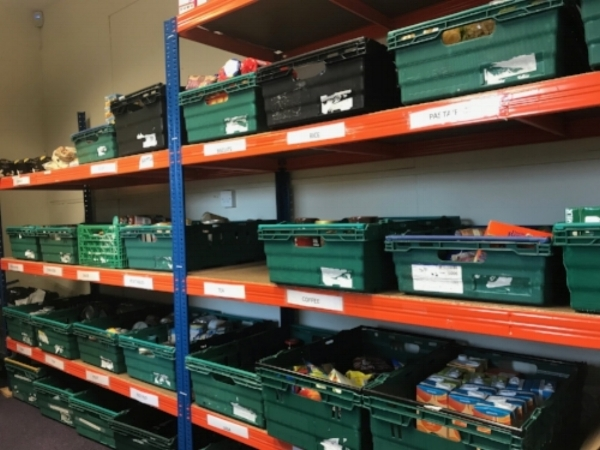 Trussell Trust Food Bank, Salford (These bins are ubiquitous)