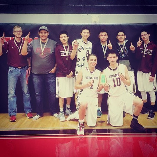"We would like to congratulate #8 @calrediron and his team on their SHSAA 1A Regional Championship and Bronze medal at Hoopla this year!  We were fortunate to have the opportunity to work with Cal last summer at the ""Fundamental Skills Camp"" Cals dedication and love for the game is impressive!  Congratulations!! #ChampionsTrainingChampions #PrimeBasketballDevelopment"