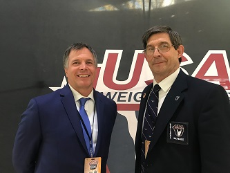 Pat Corbett (left) and Michael Conroy are National Referees for the Idaho LWC