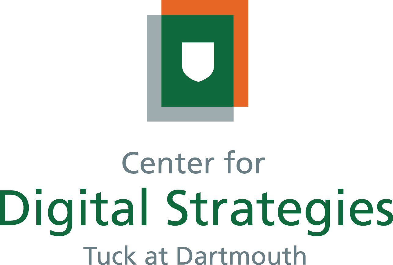 Center for Digital Strategies | Tuck School of Business at Dartmouth