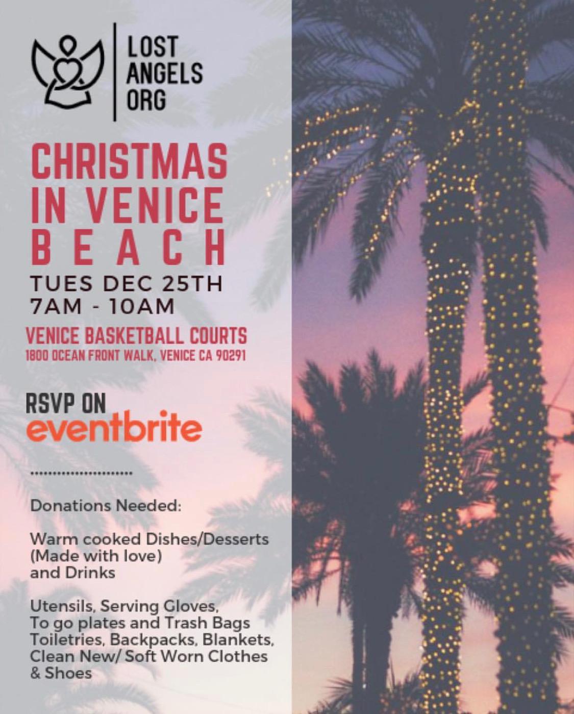 Christmas in Venice Beach