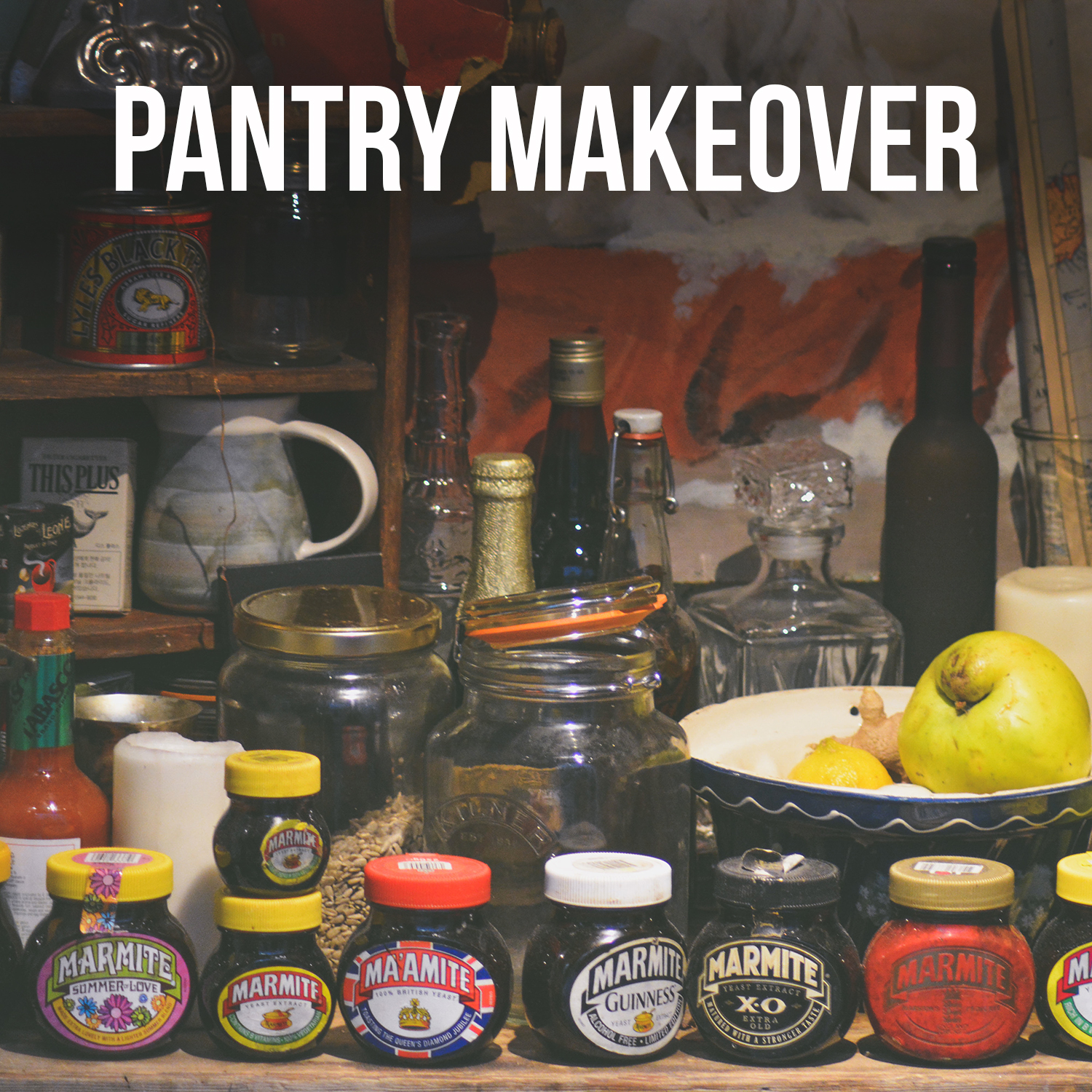 Health Coach Pantry Makeover