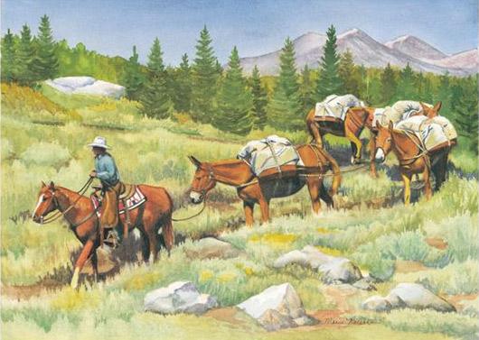 High Sierra Western Art