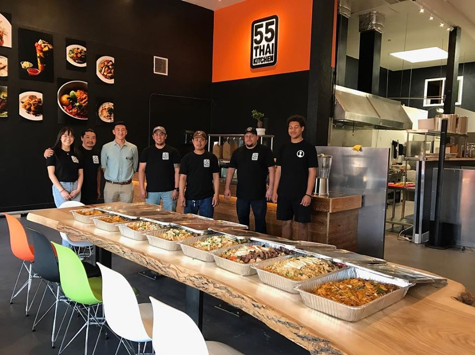 First meals made at the East Village location: A donation to the the Preuss School UC San Diego, a unique charter middle and high school for low income students who strive to become the first in their families to graduate from college.