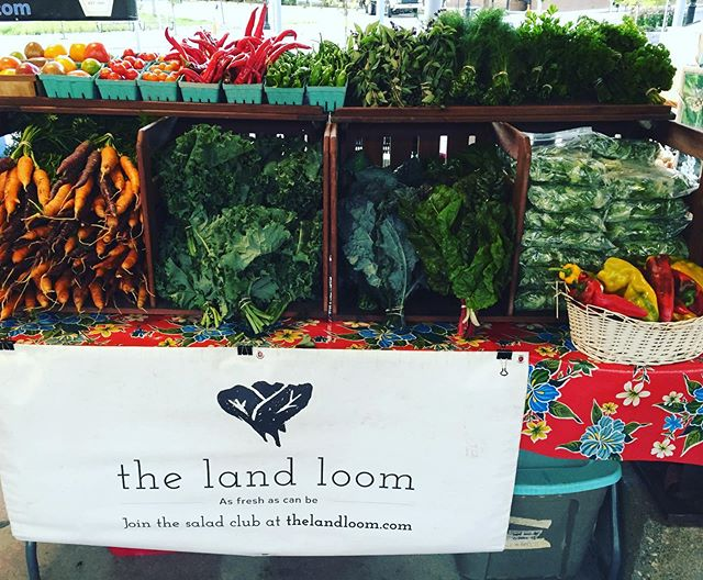 We're in a weird new spot at @a2market today but please come and find us for all your greens and herbs 🤸🏼‍♀️