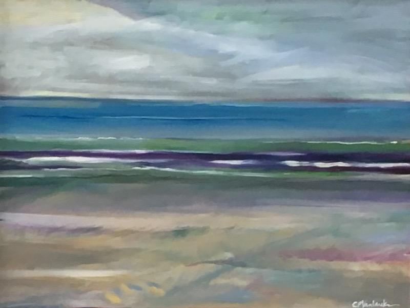 First Beach, 18 x 24