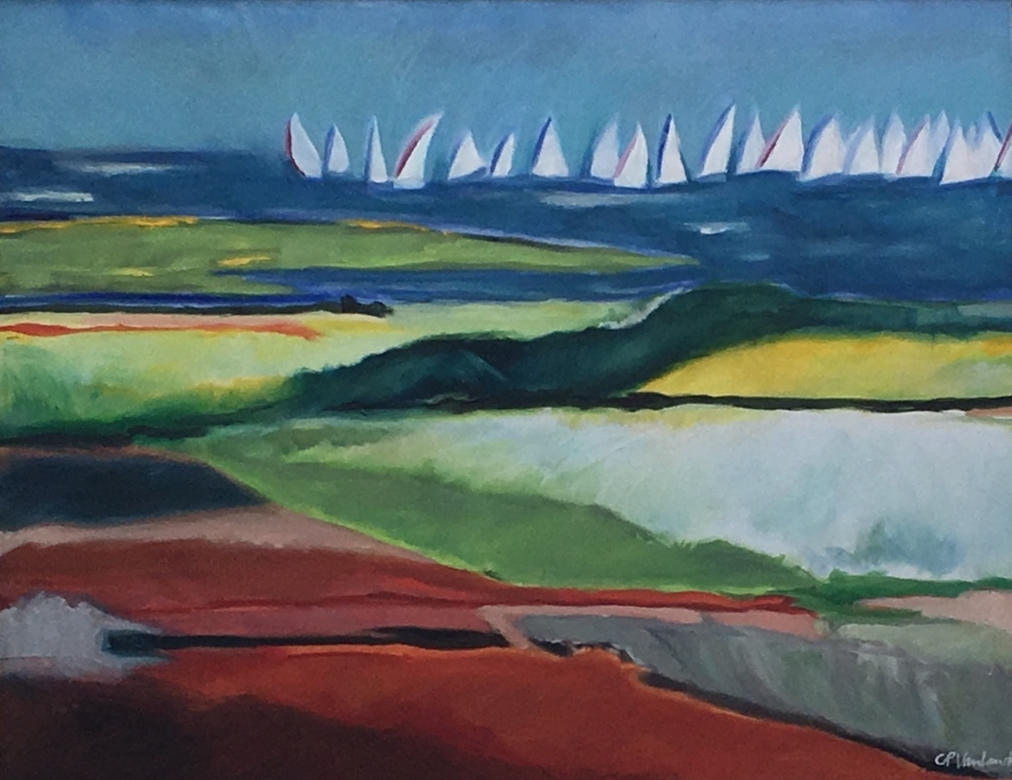 Block Island Race Week, 22 x 27