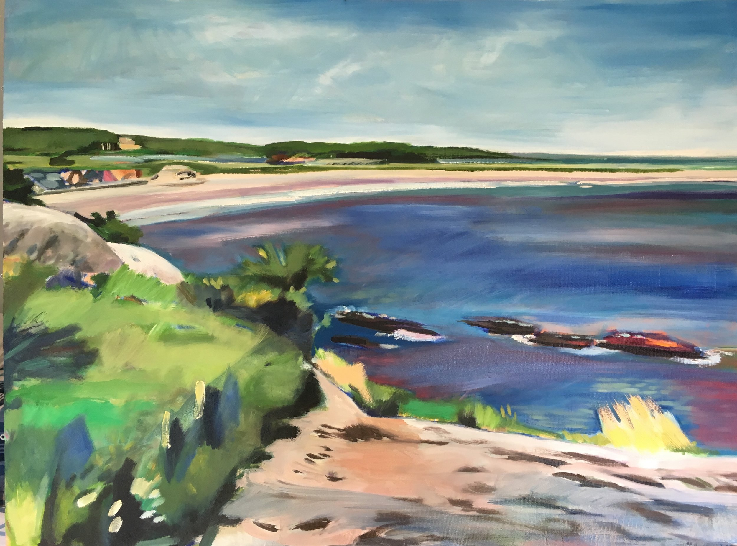 Second Beach from Purgatory, 30×40