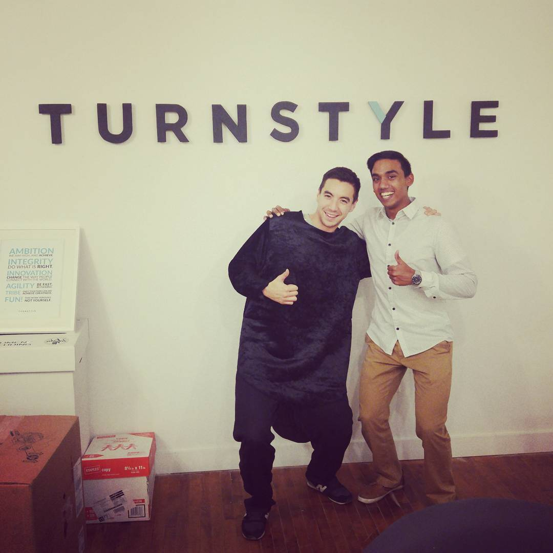 I learned a ton by doing remote/contract marketing for Turnstyle, a tech startup in Toronto.